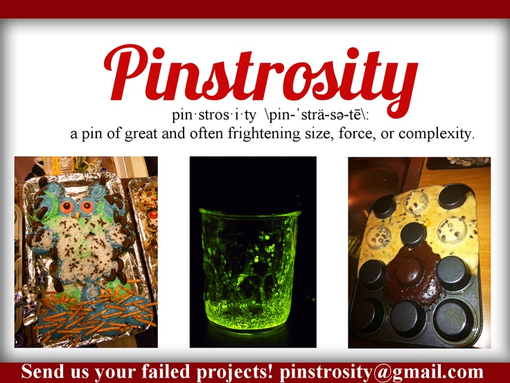 Pinstrosity - Failed Pinterest Projects - FUNNY BLOG