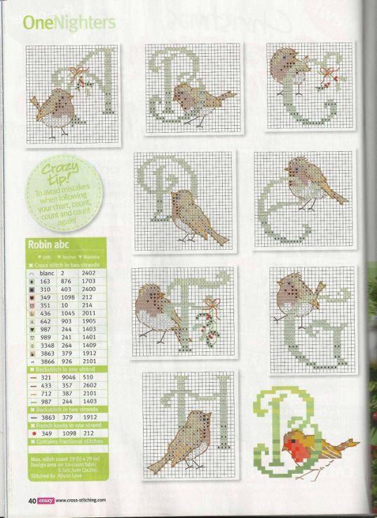 Bird Alphabet pin 2 of 4