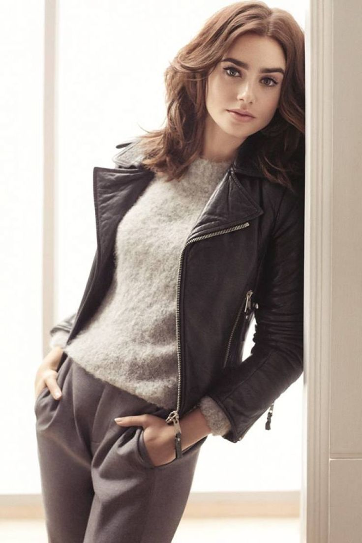 Lily Collins – Photoshoot for Marie Claire Magazine (2014)