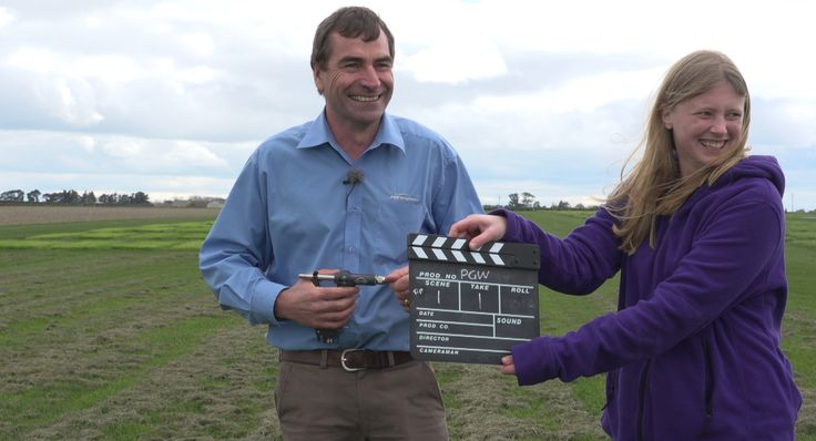 Filming PGG Wrightson Tech Tips