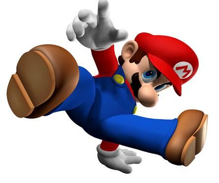 Mario breakdancing from the official artwork set for #Dance Dance Revolution #Mario Mix for #Gamecube. Visit for more info http://www.superluigibros.com/dance-dance-revolution-mario-mix