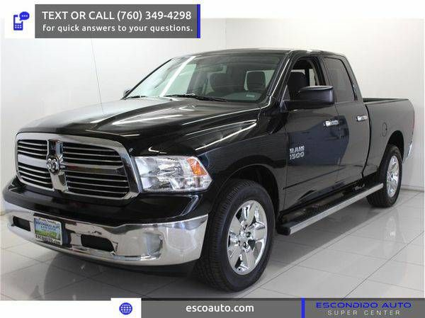 2014 *Ram* *1500* *Quad* *Cab* -☏ CALL OR TEXT FOR PRE-APPROVAL