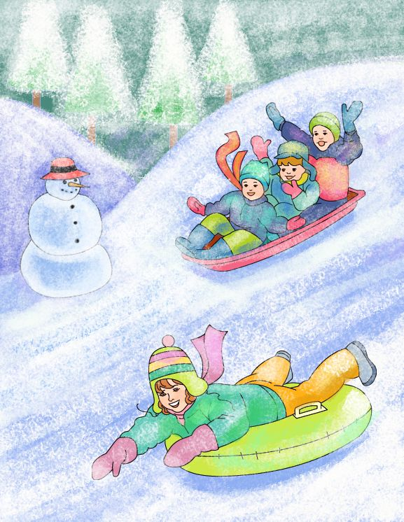 Nicole's Free Coloring Pages: Winter coloring pages