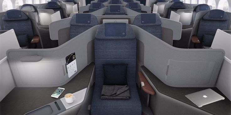 Lufthansa just unveiled throne-like business class seats fit for royals on its new Boeing 777-9