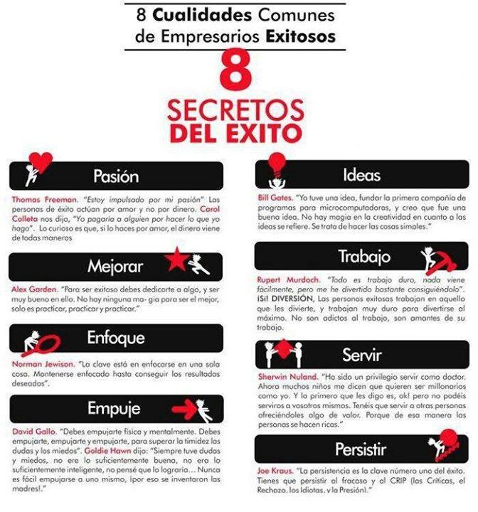 Secretos del éxito