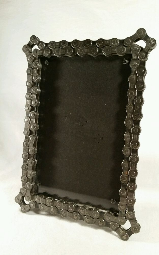 Resource Revival Recycled Bicycle Bike Chain 4x6 Picture