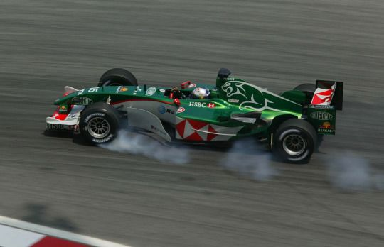 Christian Klien - Jaguar R5 - 2004 - Malaysian GP (Sepang)
