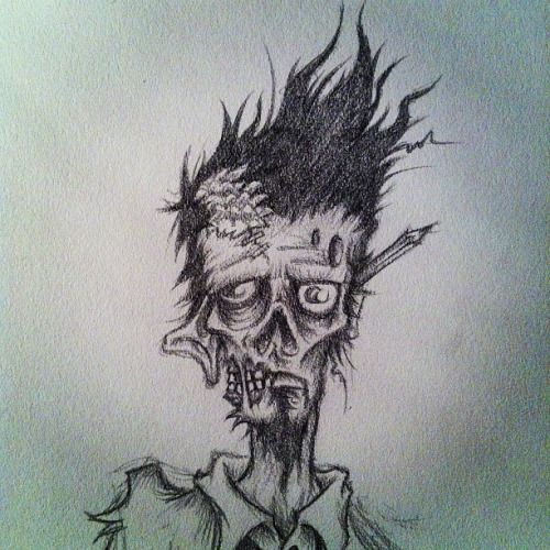10+ Ideas About Zombie Drawings On Pinterest