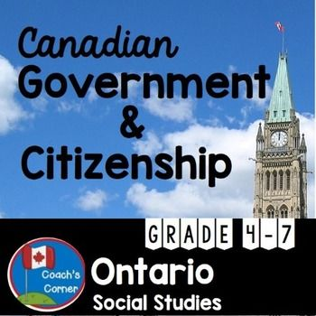 This Canadian Government and Citizenship resource was created to work with the Ontario Ministry of Education's Social Studies curriculum unit for Grade 5, The Role of Government and Responsible Citizenship . However, it will work with all provincial and territorial curriculums, and has been presented in a manner that will work well for Grades 4-7 students.UPDATE - PLEASE READ: The original version of this product had been created to meet the expectations of the previous Ontario Social Stu...