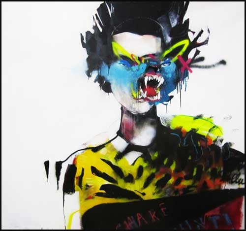 Anthony Lister #anthony lister #street Art #mural Anthony Lister http://www.widewalls.ch/artist/anthony-lister/