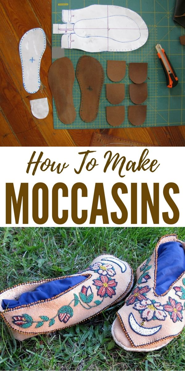 How To Make Moccasins - This skill could come in VERY handy if SHTF. You could even make these to barter with.