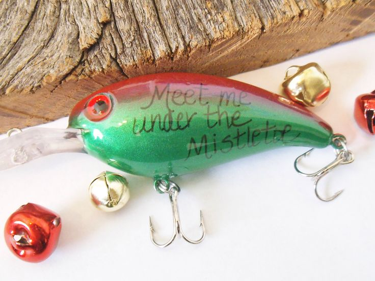 Cool Gift for Guy Birthday Christmas Fishing Lure Boyfriend Personalized Christmas Office Party Gift Secret Admirer Work White Elephant Gift by CandTCustomLures on Etsy https://www.etsy.com/listing/212078714/cool-gift-for-guy-birthday-christmas