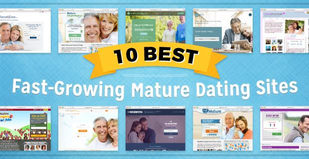 Our 10 Best Fast-Growing Mature Dating Websites meet all of the requirements senior singles could ever want or need! ➔ http://www.datingadvice.com/senior/mature-dating-sites