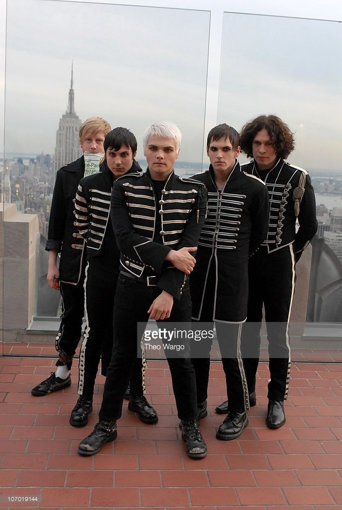 My Chemical Romance during 2006 MTV Video Music Awards - Pre-Show at Radio City Music Hall in New York City, New York, United States (Theo Wargo)