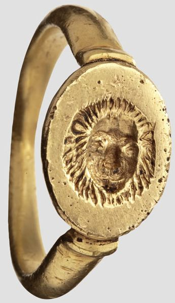 Greek signet ring, 1st century A.D.