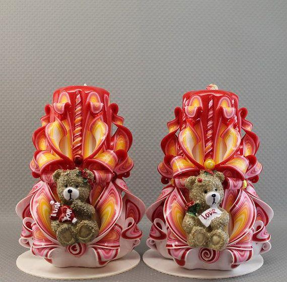 Velas del día de San Valentín día de San Valentín feliz día