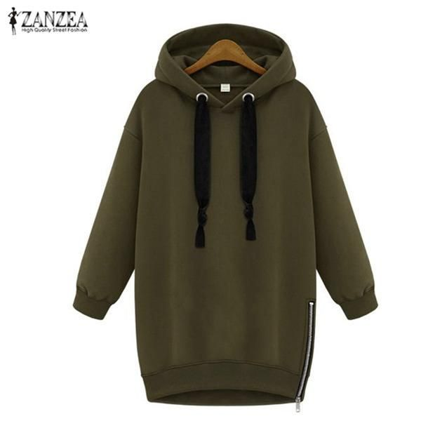 Oversized 2017 Spring Autumn Zanzea Womens Long Sleeve… Get an EXTRA 20% OFF ALL Orders with discount code: FWCOM20 #BestPrice #DiscountCode