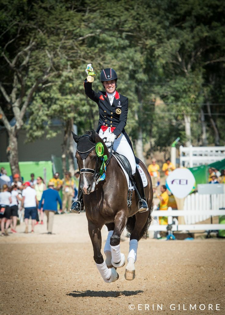 Dujardin and Valegro Win Second Consecutive Individual Olympic Gold at Rio  After an emotional and historic day of Freestyle competition, Great Britain and Germany are on the podium.