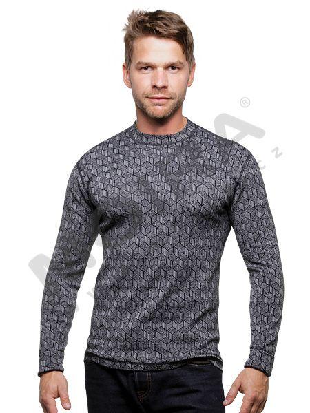 DUD/DR | pánské triko s dlouhým rukávem | duo design - MOIRA | Funkční prádlo | Termoprádlo | Sportovní oblečení