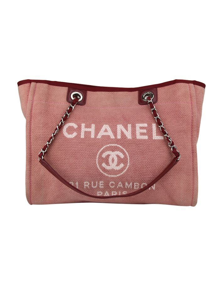 d4cd04905 Bolsa Chanel Deauville Vermelho | WOMEN'S VACATION EDIT | Pinterest ...
