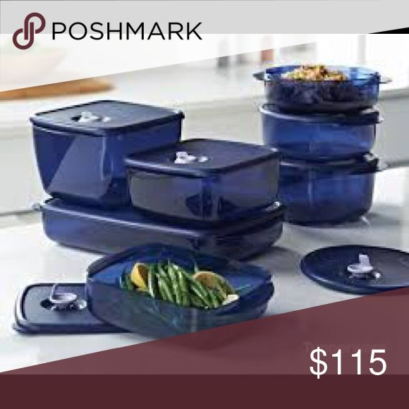 Tupperware Vent and Serve Set Brand new, never been used, still in plastic. Great for taking lunches to work. Can go right from the freezer to the microwave! Tupperware Other