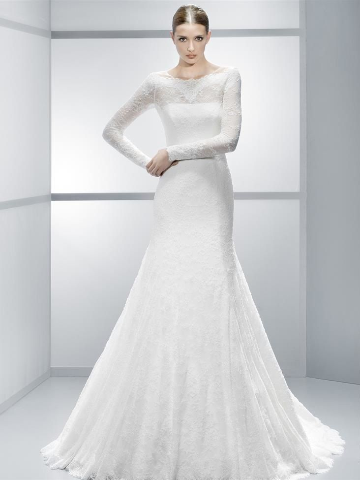d387db7b1 30 Exquisite & Elegant Long Sleeved Wedding Dresses | Long sleeve wedding  gowns. | Wedding dresses, Wedding dress trends, Wedding gowns