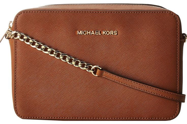 Michael Kors Jet Set Travel Large East/West Crossbody - Luggage