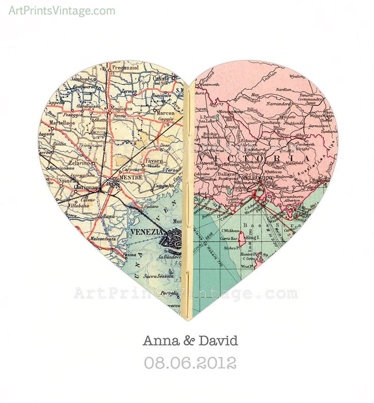 Both of your hometowns- wedding invitations, wall hanging...