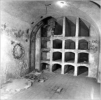 Another view inside the crypt