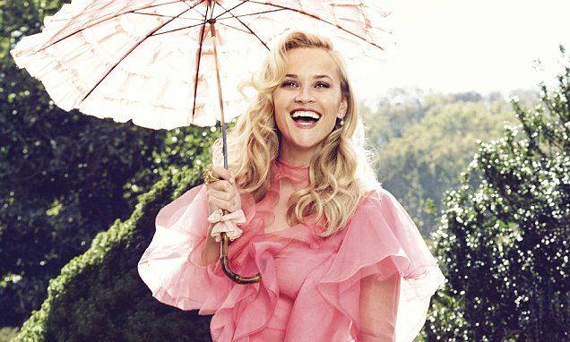 Totally Type A! Reese Witherspoon looks every inch the sweet Southern belle in new Harper's Bazaar shoot as she admits she relaxes by organizing her UNDERWEAR
