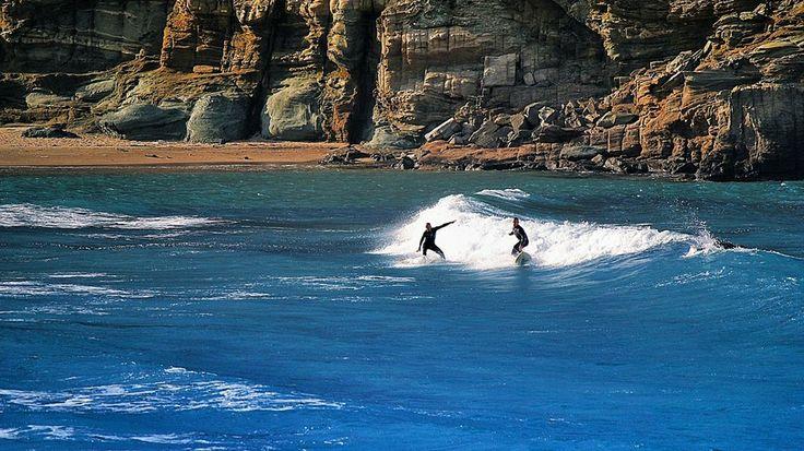 Surfing at Tinos Island by Dimitris Kozadinos on 500px