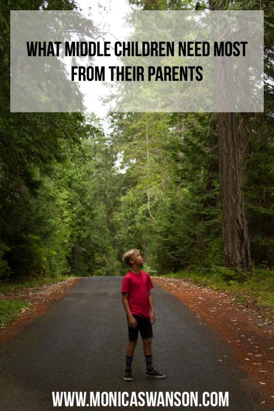 Birth Order: What Middle Children Need Most from Their Parents