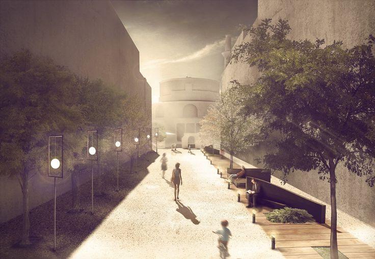 Urban - mesopatoma - landscape - post production - photoshop - thessaloniki - rotonda -rotunda -  Αστικός σχεδιασμός
