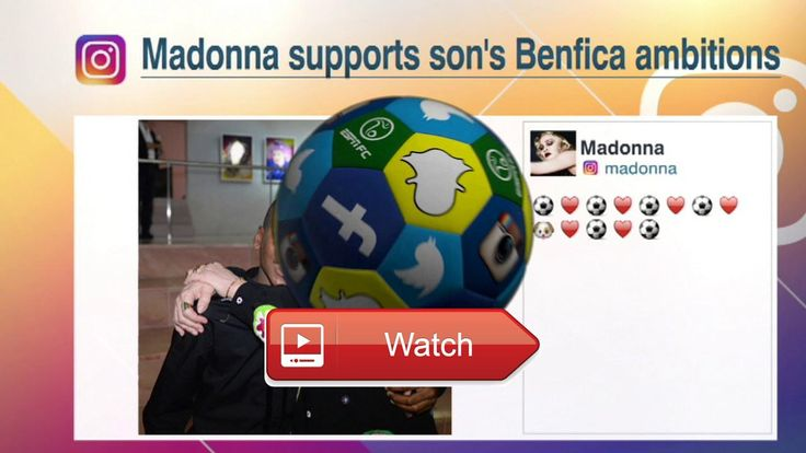 Madonna supports Benfica ESPN FC  FootyNews Please leave a like and SUBSCRIBE for all the latest news on the beautiful game of football
