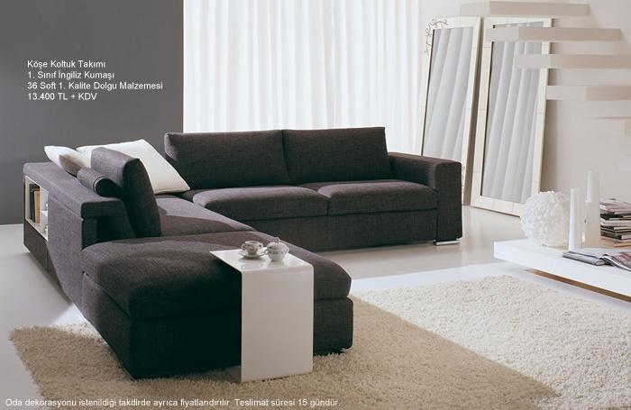 Mobilya Modelleri - Yatak Odası Takımları - Yemek Masası Takımları - Genç Odası: Oturma Odası