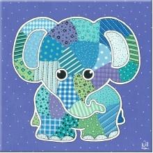 http://kinderkamerkadootje.nl/kinderkamer-schilderij-olifant-paars