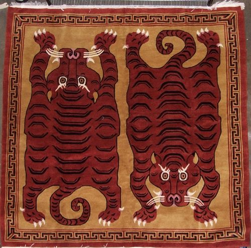 75 Best Images About Tibetan Tiger Rugs On Pinterest