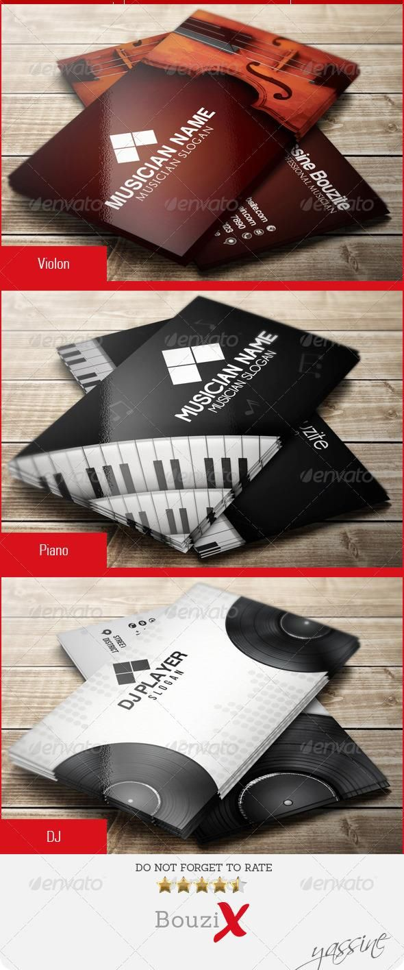 11 Best Music Industry Business Cards Images On Pinterest Music