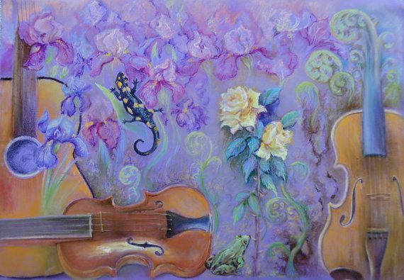 PASTEL ARTWORK Original pastel drawing Still by CanisArtStudio