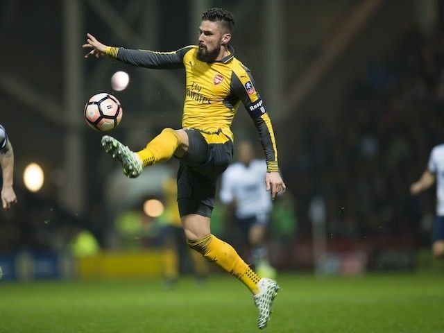 Olivier Giroud: 'Preston North End commitment surprised Arsenal'