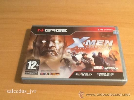 X-Men Legends Rise of Apocalypse II 2 juego para Nokia Ngage N-Gage Completo Versión Española
