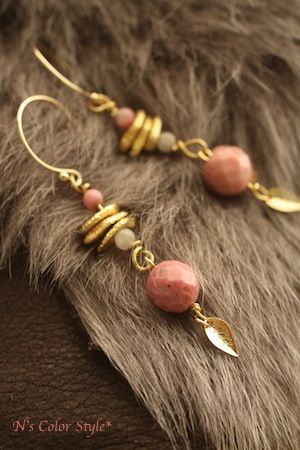 Earrings. No info on them but I like the construction. Should move well