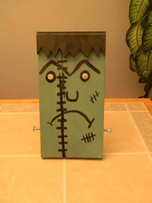 Monster decoration, Halloween, handmade art. 15$ at www.nancy-cie.com