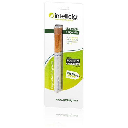 Regular Intellicig Disposable Electronic Cigarette FREE DELIVERY (1 disposable cigarette)