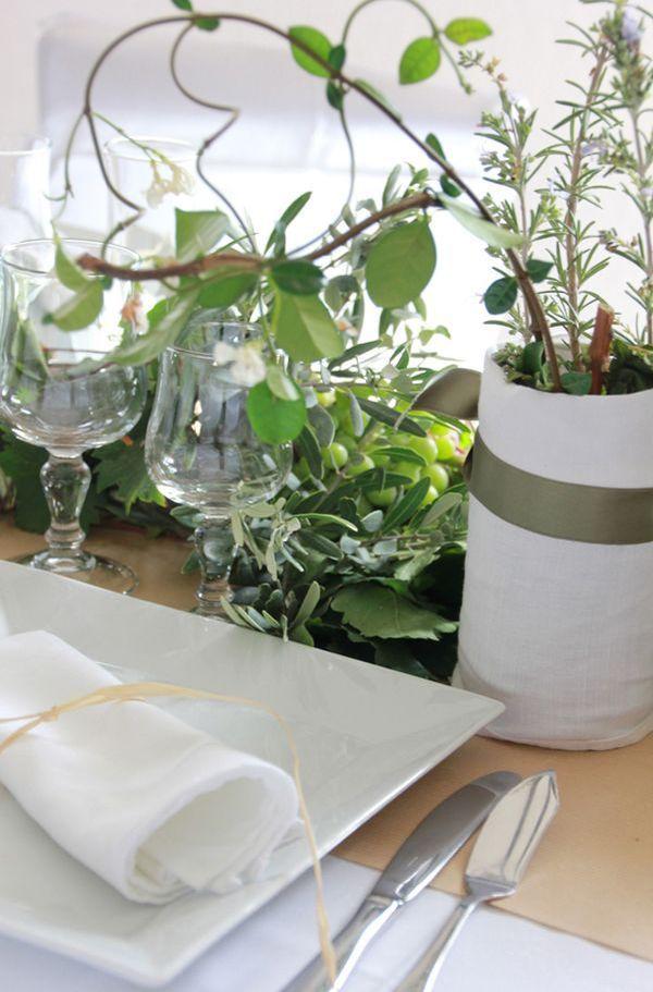 88 best images about d coration de table on pinterest for Decoration florale table