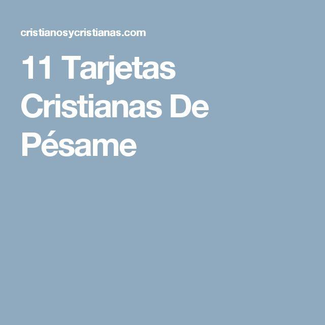 11 Tarjetas Cristianas De Pésame