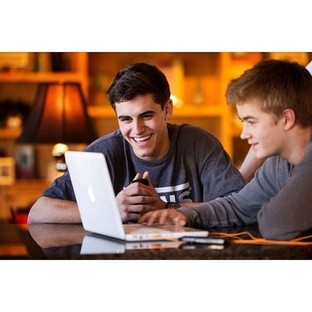 Litterally like brothers - Jack Gilinsky (left) and Jack Johnson (right)