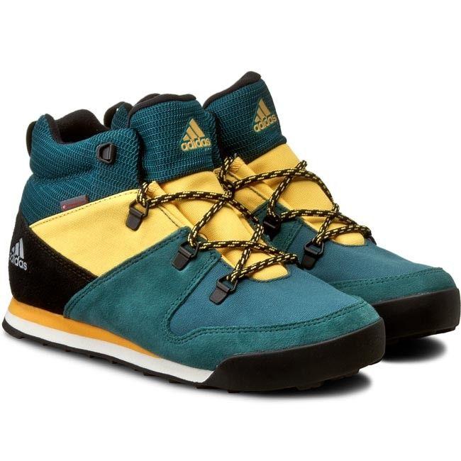 Buty adidas - Cw Snowpitch K AQ6567 Tecgrn/Cblack/Sogold