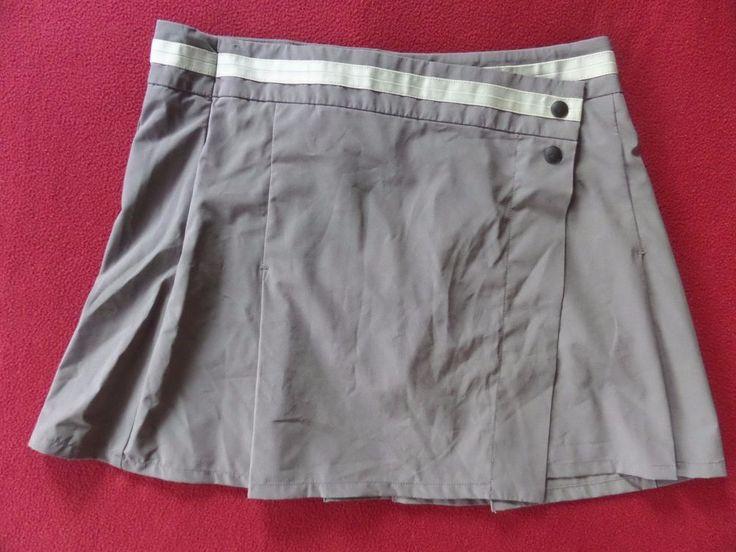 EUC OAKLEY Piton Pleated Gray Athletic Tennis Golf Sports Skirt Skort size 6 #Oakley #SkirtsSkortsDresses