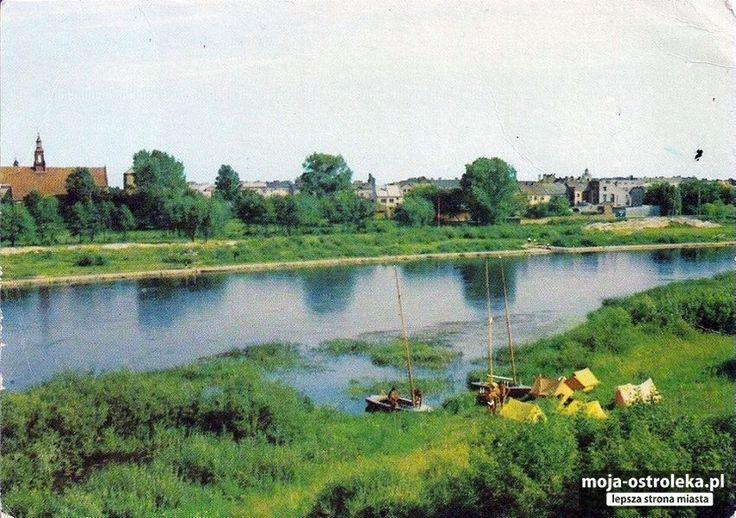 Ostrołęka powojenna (fot. archiwum prywatne)/- Pole biwakowe, 1971r.